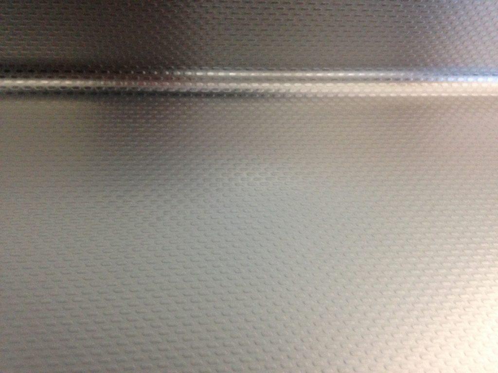 エンボス天板凹み補修