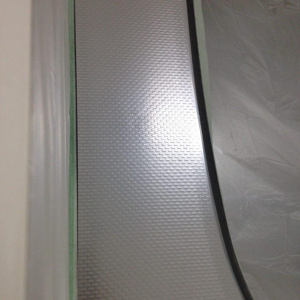 キッチン天板凹み修理