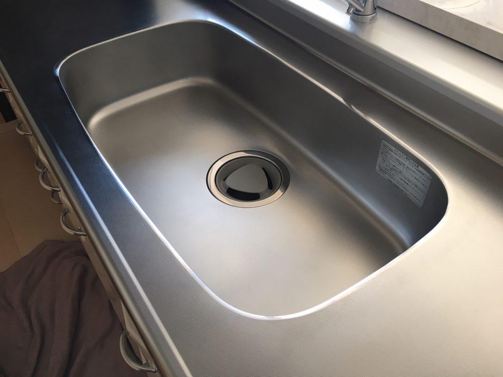 賃貸物件リフォーム工事 キッチンの染み補修